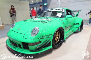 TOKYO Auto Salon 2015 Custom Car Demo JDM USDM Body Kit Coilover Suspension Wheels Campaign Girl Image New Parts Chiba Makuhari Messe Motor Show RAUH Welt PORSCHE 911