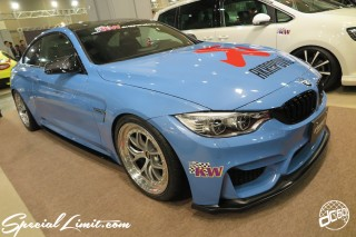 TOKYO Auto Salon 2015 Custom Car Demo JDM USDM Body Kit Coilover Suspension Wheels Campaign Girl Image New Parts Chiba Makuhari Messe Motor Show AKRAPOVIC BMW M4 KW