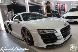 TOKYO Auto Salon 2015 Custom Car Demo JDM USDM Body Kit Coilover Suspension Wheels Campaign Girl Image New Parts Chiba Makuhari Messe Motor Show Audi R8 HAMANA