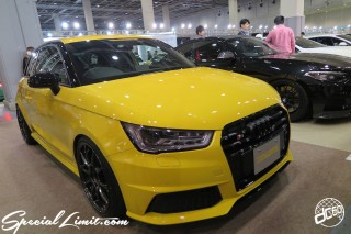 TOKYO Auto Salon 2015 Custom Car Demo JDM USDM Body Kit Coilover Suspension Wheels Campaign Girl Image New Parts Chiba Makuhari Messe Motor Show Audi S1