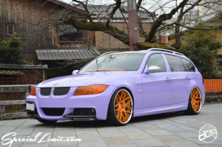 "dc601 BMW E91 325i Touring Purple Magic Apple Silver Slammed RSR Best☆i Euro Bemmer TWS Reizend 20"" 9.0J 10.0J M3 Carbon Lip Spoiler Special Limit.com Shooting Coverage Photograph Interview Auto Fashion imp af.imp Magazine CSD Big6pot Brake System M-Sport Head Light Lenz Wrapping Orange KYOTO JAPAN GION Shirakawa Street"