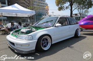 X-5 FUKUOKA 2015 CROSS FIVE XTREME SUPER SHOW JAPAN TOUR MONSTER ENERGY Boat Race Parking Forged Wheels Cast New Custom Parts Campaign Girl Image Domestics USDM JDM Slammed Hi-Lander Camber Magazine Interview Wide Body Kit Audio Adjustable Coil Over One Off Street Paint HONDA EF CIVIC VTEC
