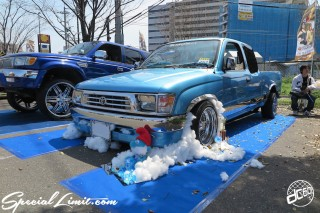 X-5 FUKUOKA 2015 CROSS FIVE XTREME SUPER SHOW JAPAN TOUR MONSTER ENERGY Boat Race Parking Forged Wheels Cast New Custom Parts Campaign Girl Image Domestics USDM JDM Slammed Hi-Lander Camber Magazine Interview Wide Body Kit Audio Adjustable Coil Over One Off Street Paint TOYOTA HILUX PICK UP