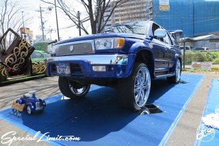 X-5 FUKUOKA 2015 CROSS FIVE XTREME SUPER SHOW JAPAN TOUR MONSTER ENERGY Boat Race Parking Forged Wheels Cast New Custom Parts Campaign Girl Image Domestics USDM JDM Slammed Hi-Lander Camber Magazine Interview Wide Body Kit Audio Adjustable Coil Over One Off Street Paint TOYOTA HILUX SURF