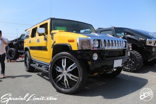 X-5 FUKUOKA 2015 CROSS FIVE XTREME SUPER SHOW JAPAN TOUR MONSTER ENERGY Boat Race Parking Forged Wheels Cast New Custom Parts Campaign Girl Image Domestics USDM JDM Slammed Hi-Lander Camber Magazine Interview Wide Body Kit Audio Adjustable Coil Over One Off Street Paint GM HUMMER H2