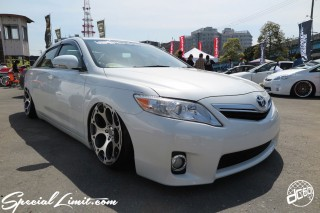 X-5 FUKUOKA 2015 CROSS FIVE XTREME SUPER SHOW JAPAN TOUR MONSTER ENERGY Boat Race Parking Forged Wheels Cast New Custom Parts Campaign Girl Image Domestics USDM JDM Slammed Hi-Lander Camber Magazine Interview Wide Body Kit Audio Adjustable Coil Over One Off Street Paint TOYOTA CAMRY