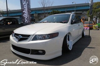 X-5 FUKUOKA 2015 CROSS FIVE XTREME SUPER SHOW JAPAN TOUR MONSTER ENERGY Boat Race Parking Forged Wheels Cast New Custom Parts Campaign Girl Image Domestics USDM JDM Slammed Hi-Lander Camber Magazine Interview Wide Body Kit Audio Adjustable Coil Over One Off Street Paint HONDA ACCORD ACURA TL