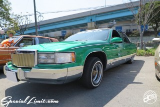 X-5 FUKUOKA 2015 CROSS FIVE XTREME SUPER SHOW JAPAN TOUR MONSTER ENERGY Boat Race Parking Forged Wheels Cast New Custom Parts Campaign Girl Image Domestics USDM JDM Slammed Hi-Lander Camber Magazine Interview Wide Body Kit Audio Adjustable Coil Over One Off Street Paint Cadillac Brougham