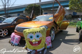 X-5 FUKUOKA 2015 CROSS FIVE XTREME SUPER SHOW JAPAN TOUR MONSTER ENERGY Boat Race Parking Forged Wheels Cast New Custom Parts Campaign Girl Image Domestics USDM JDM Slammed Hi-Lander Camber Magazine Interview Wide Body Kit Audio Adjustable Coil Over One Off Street Paint NISSAN TIANA