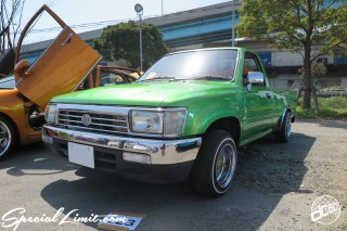 X-5 FUKUOKA 2015 CROSS FIVE XTREME SUPER SHOW JAPAN TOUR MONSTER ENERGY Boat Race Parking Forged Wheels Cast New Custom Parts Campaign Girl Image Domestics USDM JDM Slammed Hi-Lander Camber Magazine Interview Wide Body Kit Audio Adjustable Coil Over One Off Street Paint TOYOTA HILUX