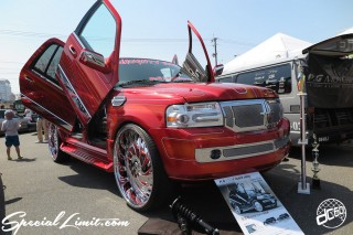 X-5 FUKUOKA 2015 CROSS FIVE XTREME SUPER SHOW JAPAN TOUR MONSTER ENERGY Boat Race Parking Forged Wheels Cast New Custom Parts Campaign Girl Image Domestics USDM JDM Slammed Hi-Lander Camber Magazine Interview Wide Body Kit Audio Adjustable Coil Over One Off Street Paint LINCOLN NAVIGATOR