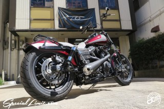 dc601 Harley Davidson Dyna Street bob Limited FXDBB 2015 American Custom Works Factory Shop Thunderbike customs Germany parts Roland Sands Design RSD Vintage Tracker Joker Machine Genuine FUNRIDE exhaust Ironcross Cover MOTOR STAGE Noy's Rear Fender Tweed Seat Speciallimit